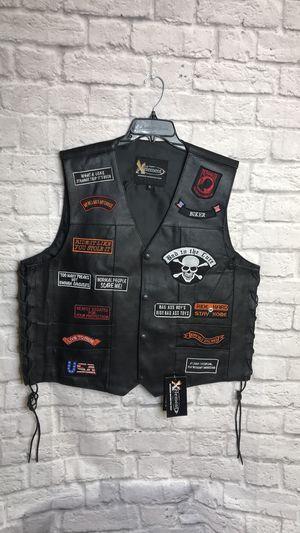 Xelement Advance Motorcycle Gear Leather Vest Sz XL&L Men's New for Sale in Montclair, CA