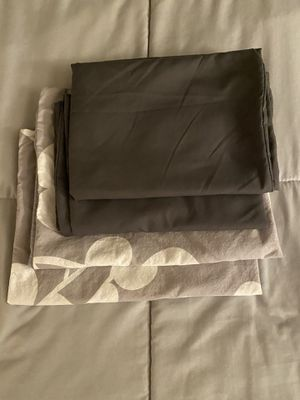 Set of Grey Pillowcases and Pillow Shams for Sale in Sparks, NV