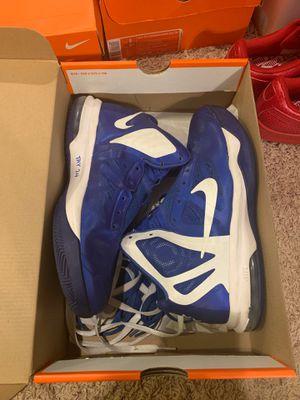 blue nike basketball shoes for Sale in Nashville, TN