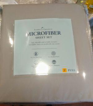 New microfiber sheet set/fulk for Sale in Davenport, IA