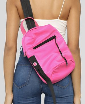 Hot Pink Nylon Sling Backpack for Sale in Glen Allen, VA
