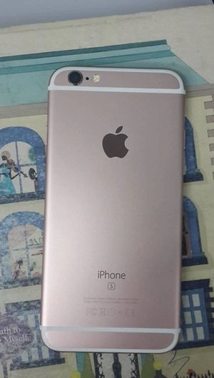 Pink Rose Gold IPhone 64 Gb AT&T or Cricket Today only for Sale in Denver, CO