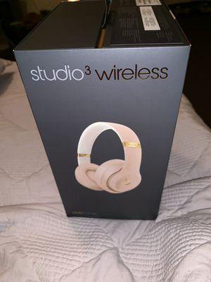 Beats Studio3 Wireless Headphones for Sale in Houston, TX