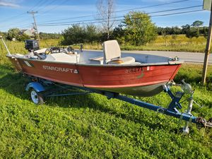 "1989 starcraft 14'6"" console for Sale in Bradford, ME"