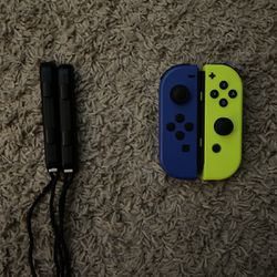 Nintendo Switch Joy Con Blue/Yellow for Sale in Vancouver,  WA