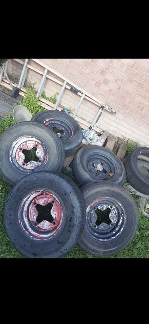 Trailer /mobile home / camper wheels and tires for Sale in Waxahachie, TX