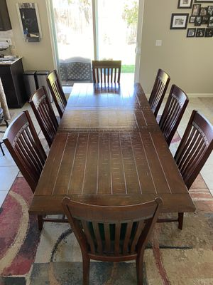Dining room table, chairs and buffet for Sale in Clovis, CA