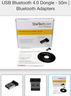 StarTech USB to Bluetooth adapter for Sale in Huntersville, NC