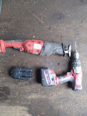 Milwaukee saws all & drill for Sale in Seattle, WA