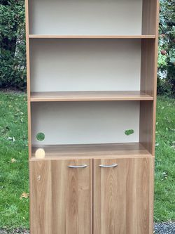 Wooden Display Shelf And Cabinet Unit for Sale in Kent,  WA