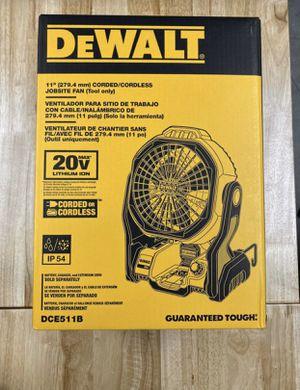 Dewalt Fan DCE511 FIRM PRICE for Sale in Irwindale, CA