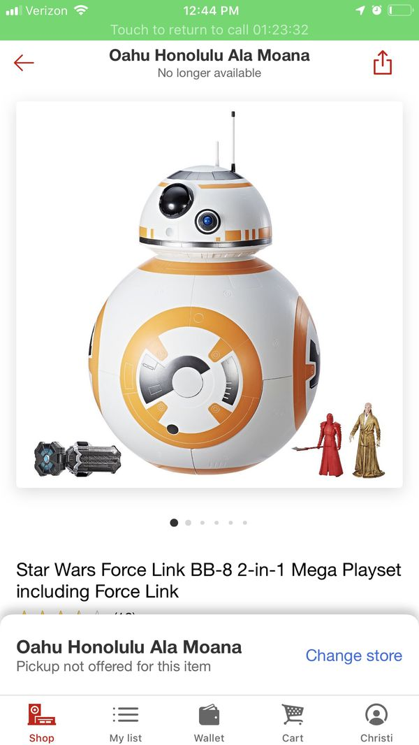 NEW!!! Star Wars Force Link BB-8 2-in-1 Mega Playset