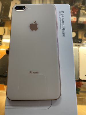 IPHONE 8 Plus pre-owned 64gb (for boost mobile only) NOT UNLOCKED. Only for new boost customers 90 day warranty through boost. GOLD! Includes first m for Sale in Downers Grove, IL