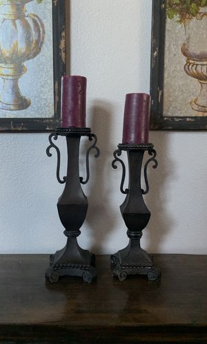 Beautiful candle holder pillars for Sale in Fontana, CA