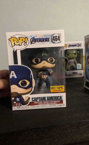 Pop captain America hot topic exclusive for Sale in Hialeah, FL