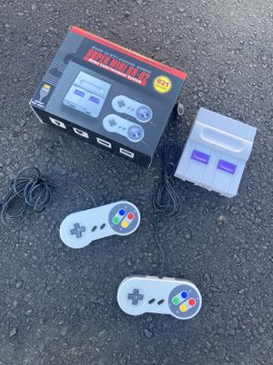 Bootleg Super Nintendo || 800 built in classic games || HDMI for Sale in Los Angeles, CA