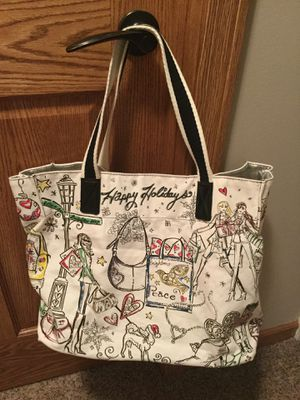 Brighton Collectibles Christmas Holiday Canvas Tote Bag for Sale in Frankfort, IL