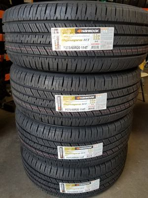 275 60 20 HANKOOK DINAPRO TIRES for Sale in Colton, CA