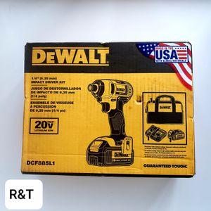 dewalt. 1/4 impact driver kit for Sale in Fullerton, CA