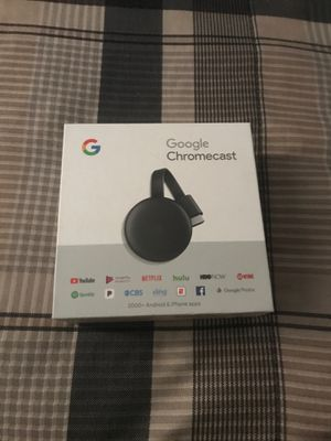 Google chromecast for Sale in Upland, CA