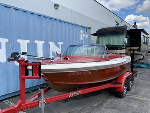 1962 Century Sabre boat with custom trailer for Sale in Riverside, CA