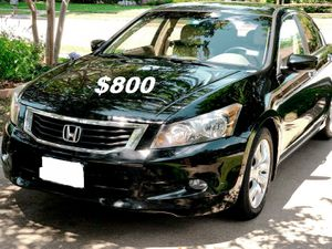 $8OO I sell URGENT my family car 2OO9 Honda Accord Sedan Runs and drives great! Clean title. for Sale in Oakland, CA