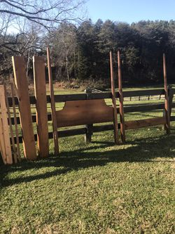 Solid Wood Full-sized Bed Frame for Sale in Rustburg,  VA