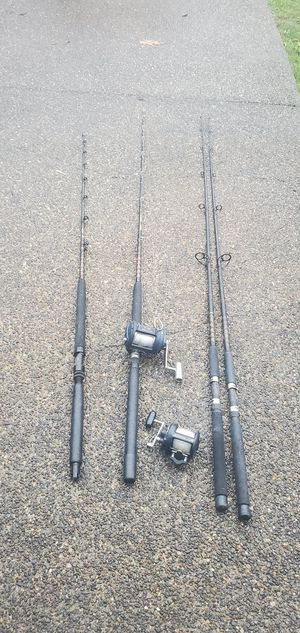 Fishing rods and reels for Sale in Kent, WA