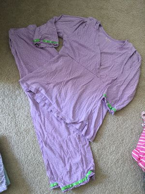 Used, Nursing PJs size small for Sale for sale  Wauconda, IL