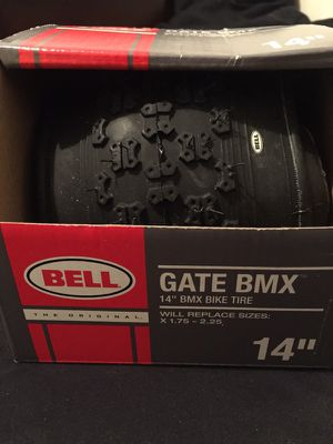 "14"" Gate BMX Bicycle tire Bell Bike Tire for Sale in Clarksville, TN"