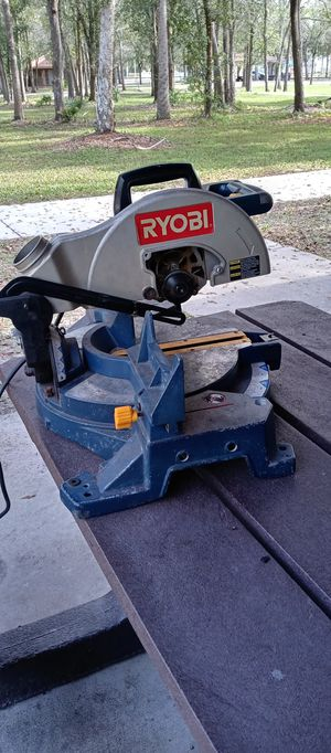 RYOBI table saw for Sale in Pinellas Park, FL