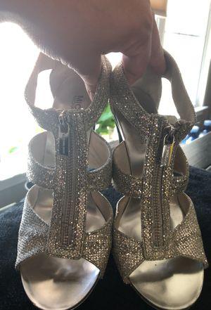 Michael Kors silver/glitter shoe, size 7.5M for Sale in Chantilly, VA