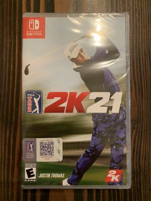 PGA Tour 2K21 for Nintendo Switch. Brand New & Sealed. for Sale in Brentwood, CA