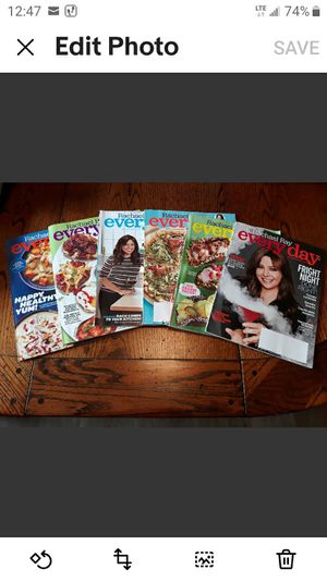 Lot of 6 Rachael Ray Magazines Good Condition for Sale in Winter Haven, FL