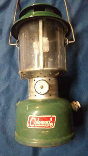 "COLEMAN Vintage 220F/228F Double Mantel Lantern ""SUNSHINE OFTHE NIGHT"" Date 5/68 for Sale in Coffeyville, KS"