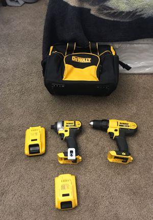 One Dewalt 20v max impact driver, one Dewalt 20v max drill driver, for Sale in Phoenix, AZ