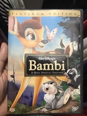 ENDLESS DISNEY CLASSIC Bambi platinum 2 disc edition $10 for Sale in Hialeah, FL
