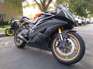 2009 Yamaha YZFR6 clean title in hand tags 2021 for Sale in Garden Grove, CA
