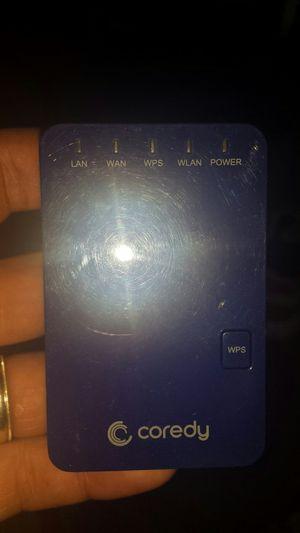 Coredy WiFi extender repeater for Sale in Murfreesboro, TN