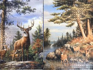 Two 1000 piece wildlife puzzles for Sale in Sumner, WA