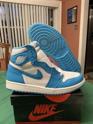Air Jordan 1 UNC OG sz 10 Nike Air off white no box for Sale in Arlington, VA
