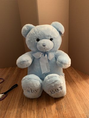 "Large Stuffed ""Baby Boy"" Bear for Sale in Beverly Hills, CA"