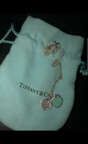 FS: Authentic Tiffany&Co Mini Double Heart Tag Pendant for Sale in Long Beach, CA