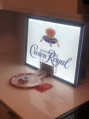 LED Crown Royal basketball hoop. $100 for Sale in Phoenix, AZ