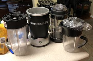 Nutribullet RX magic bullet for Sale in Huddleston, VA
