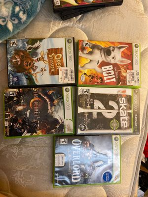Xbox 360 games for Sale in Moreno Valley, CA