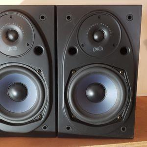 "Polk Audio rt15i 6.5"" stereo passive bookshelf studio monitors speakers for Sale in Feasterville-Trevose, PA"