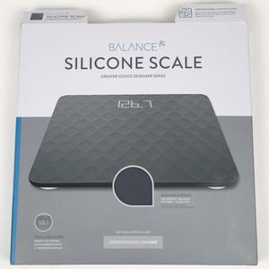 New Designer Bathroom Scale with Textured Silicone Cover Gray (Tarpon Springs) for Sale in Tarpon Springs, FL