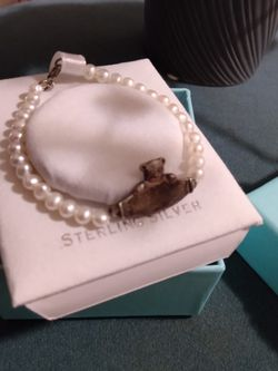 Child's Pearl And Sliver Bracelet for Sale in Washington,  DC