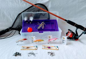 GIRLS FISH TOO! - Rod, Reel, Tackle Box for Sale in Phoenix, AZ